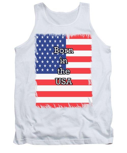 Born In The Usa Tank Top