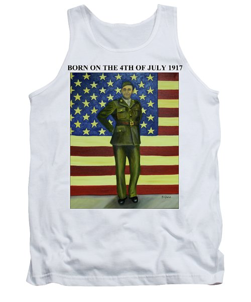 Born On The 4th Of July Tank Top