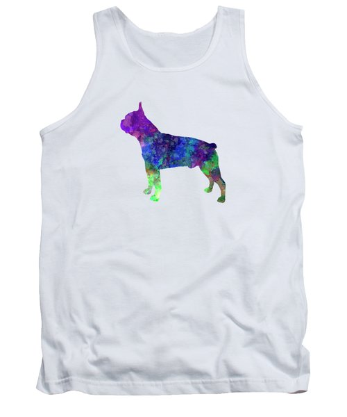 Boston Terrier 02 In Watercolor Tank Top