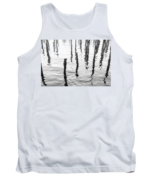 Boston Wharf Ruins Tank Top