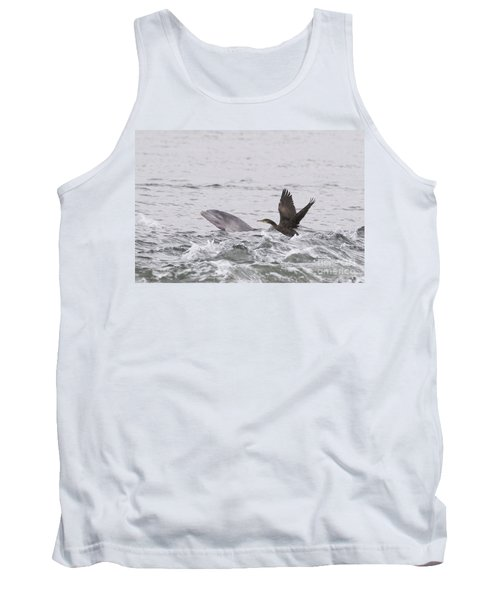 Baby Bottlenose Dolphin - Scotland #10 Tank Top