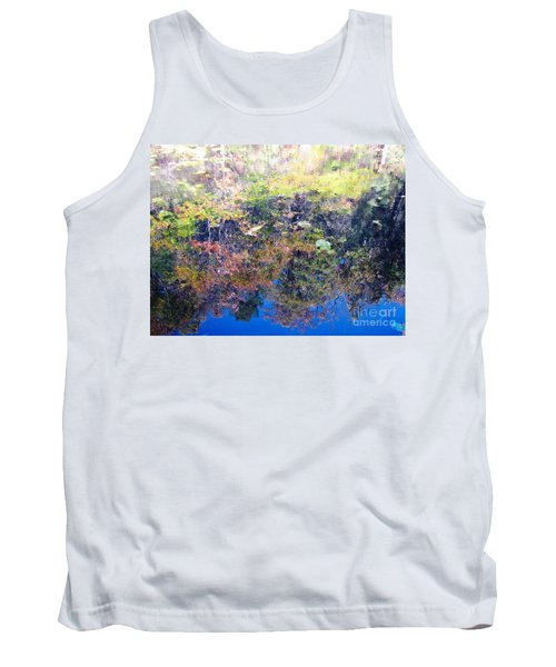 Tank Top featuring the photograph Bottoms Up Sunlight by Melissa Stoudt