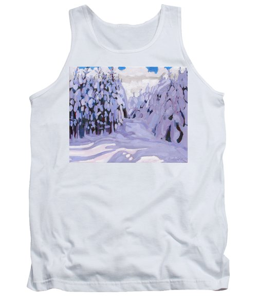 Boughs Before The Wind Tank Top