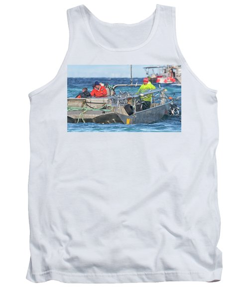 Tank Top featuring the photograph Bouncing Herring by Randy Hall