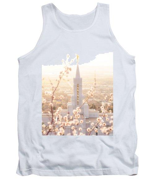 Bountiful Temple Blooms Tank Top