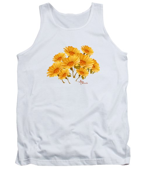 Bouquet Of Daisies Tank Top