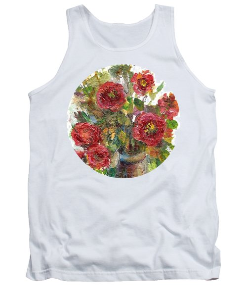 Bouquet Of Poppies Tank Top