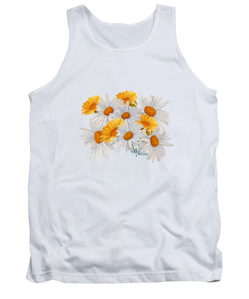 Bouquet Of Wild Flowers Tank Top by Angeles M Pomata