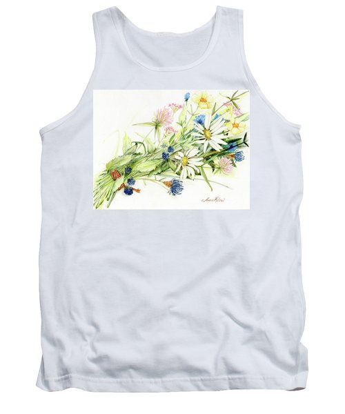 Bouquet Of Wildflowers Tank Top