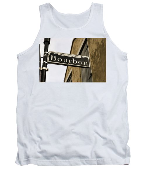 Bourbon Street, New Orleans, Louisiana Tank Top