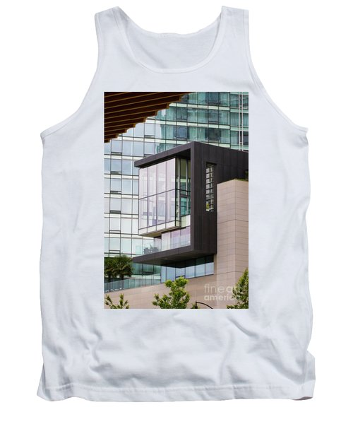 Tank Top featuring the photograph Boxed In by Chris Dutton
