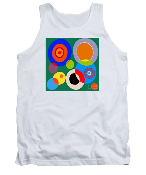 Tank Top featuring the painting boy by Beth Saffer