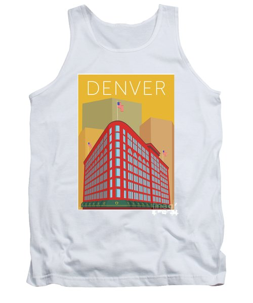 Denver Brown Palace/gold Tank Top
