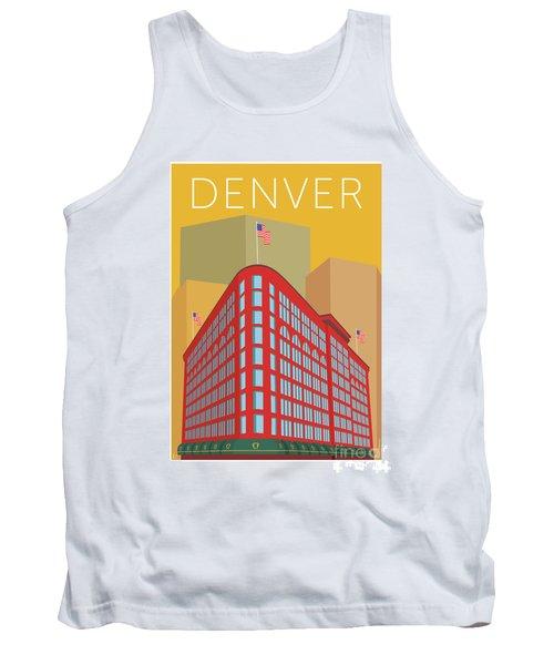 Denver Brown Palace/gold Tank Top