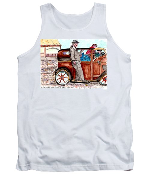 Bracco Candy Store - Window To Life As It Happened Tank Top by Philip Bracco