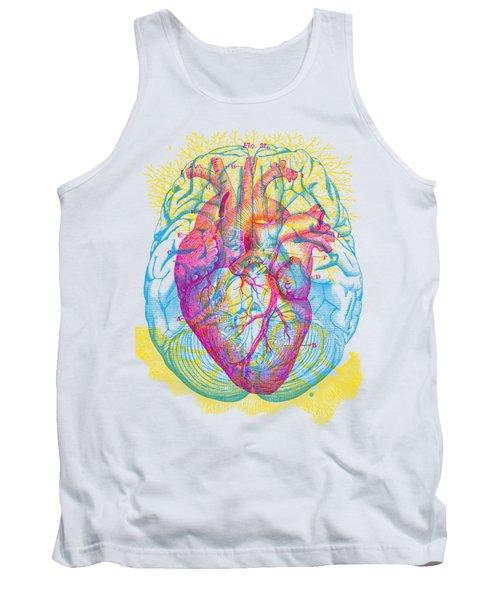 Brain Heart Circulation Tank Top