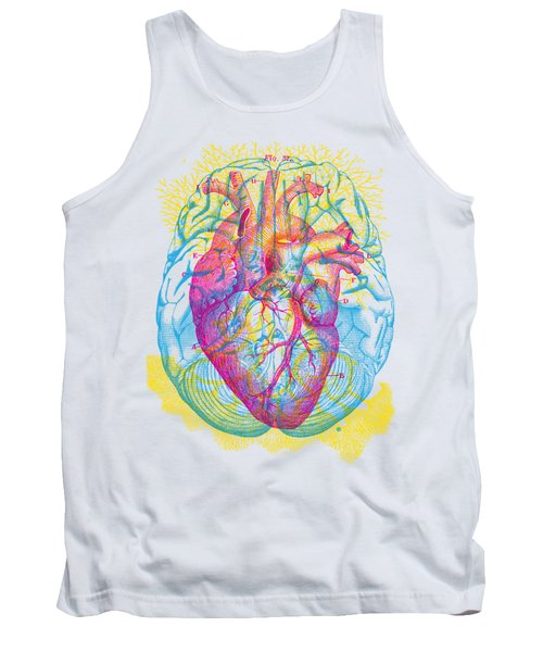 Brain Heart Circulation Tank Top