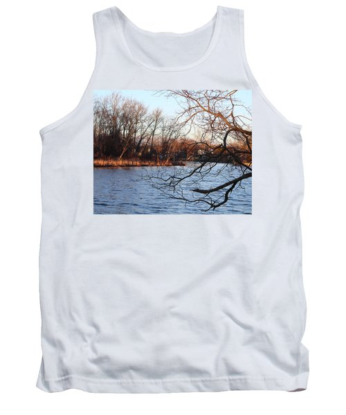 Branches Over Water Tank Top