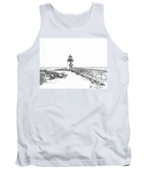 Brant Point Lighthouse Tank Top