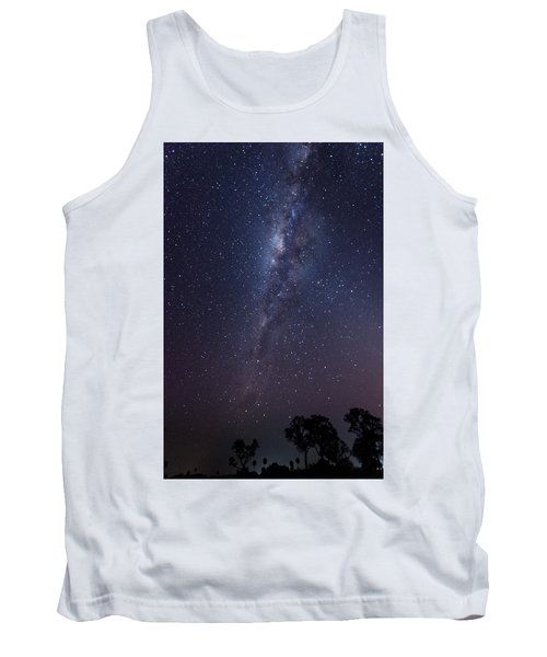 Tank Top featuring the photograph Brazil By Starlight by Alex Lapidus