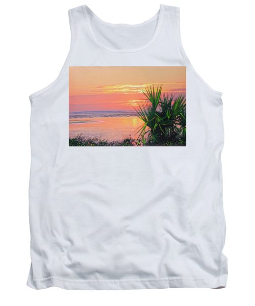 Breach Inlet Sunrise Palmetto  Tank Top