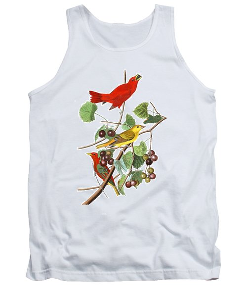 Tank Top featuring the photograph Breakfast Time by Munir Alawi