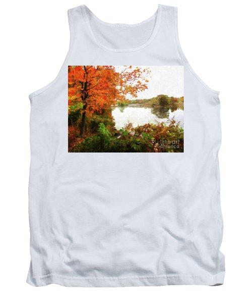Breath Of Autumn Tank Top