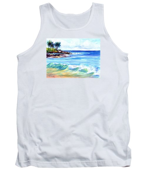 Brennecke's Beach Tank Top by Marionette Taboniar
