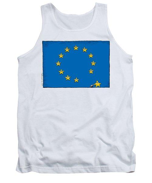 Brexit Eu Flag  Tank Top
