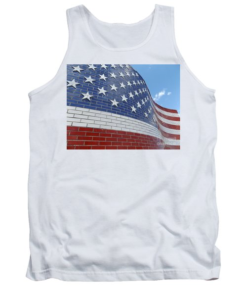 Brick Flag Tank Top