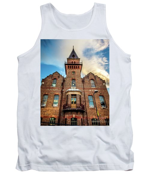 Tank Top featuring the photograph Brick Tower by Perry Webster