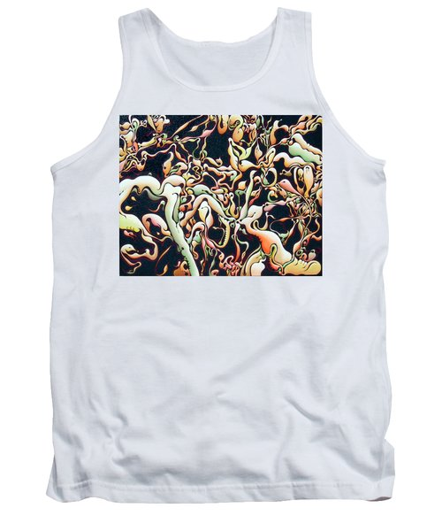 Bricolage With Cabbage Tank Top