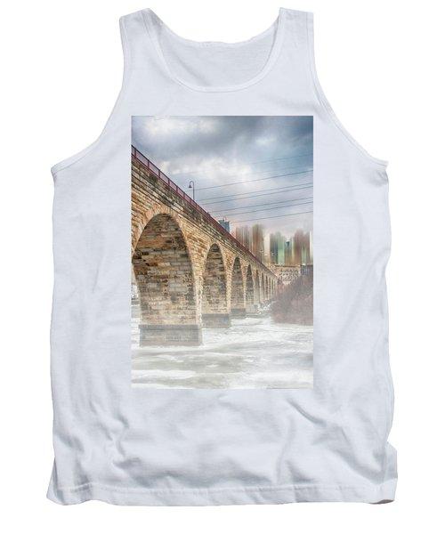Bridge Over Frozen Water Tank Top