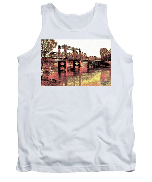 Bridge Over Murray River Tank Top