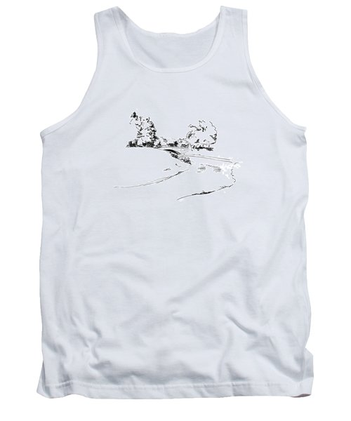 Bridge Over The River Tank Top