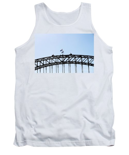 Tank Top featuring the photograph Bridge Walk by Stephen Mitchell