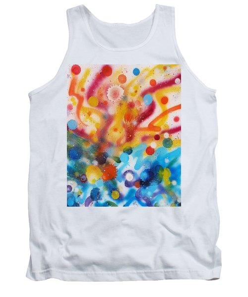 Bringing Life Spray Painting  Tank Top