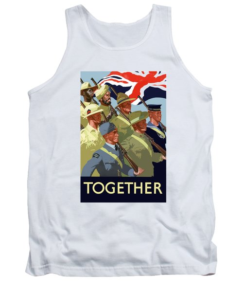 British Empire Soldiers Together Tank Top