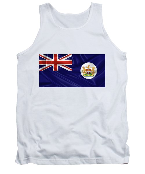 British Hong Kong Flag Tank Top