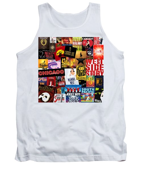 Broadway 10 Tank Top by Andrew Fare