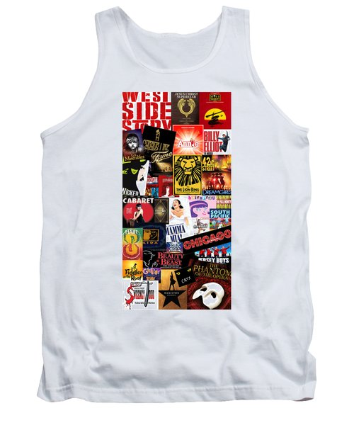 Broadway 9 Tank Top by Andrew Fare