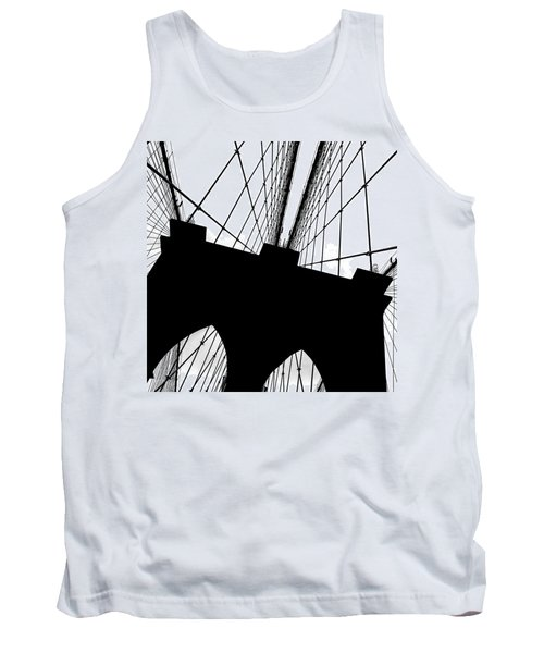 Brooklyn Bridge Architectural View Tank Top