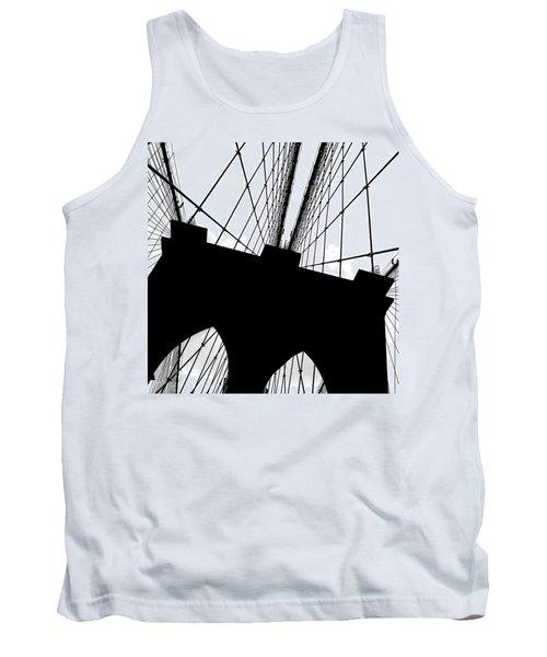Brooklyn Bridge Architectural View Tank Top