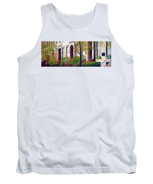Brooklyn Brownstone Corridor 2 Tank Top