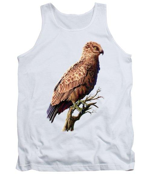 Brown Snake Eagle Tank Top