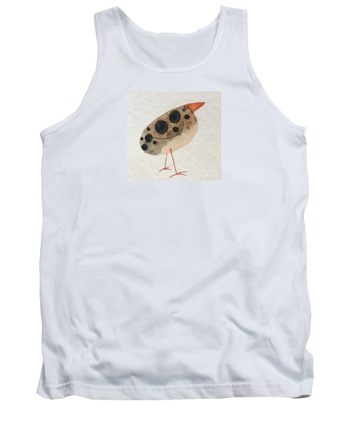 Brown Spotted Bird Tank Top
