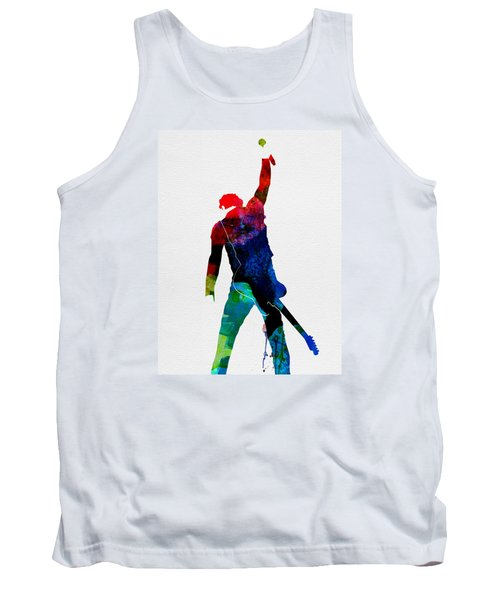 Bruce Watercolor Tank Top