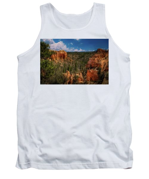 Bryce Canyon From The Top Tank Top