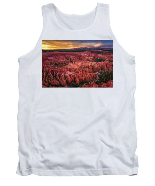 Bryce Canyon In The Glow Of Sunset Tank Top