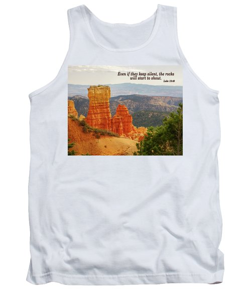 Tank Top featuring the photograph Bryce Canyon by Jim Mathis